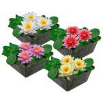 Waterlelie Mix (4 kleuren)  Waterlelies   VanderVeldeWaterplanten.nl
