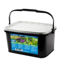 Deze Waterplanten grond in gemengd met voeding voor minimaal 1 jaar en is daarmee zeer geschikt om alle soorten waterplanten eenvoudig mee op te potten. Voor optimaal resultaat mengen met vijverplanten klei