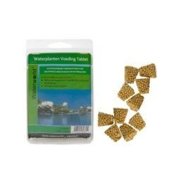 Met de Waterworld Voedingstabletten bent u verzekerd van goed groeiende en mooi bloeiende waterplanten. Geef uw waterlelies
